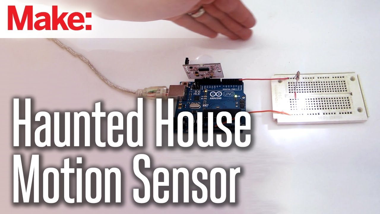 Diy Hacks How Tos Motion Sensor Youtube Improved Infrared Detector Circuit