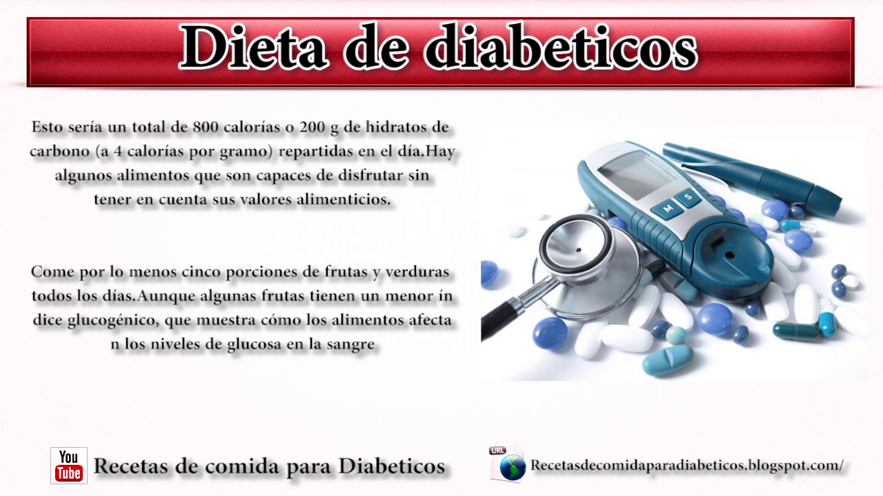 Dieta de diabeticos comidas saludables para diabeticos..