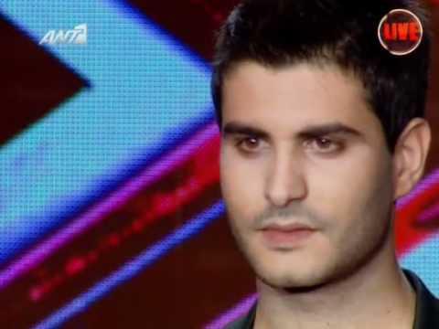 X Factor 3 Greece - Grigoris - ΘΕΟΣ (Live Show 3)
