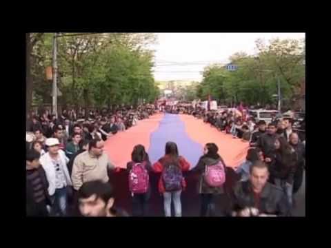 24го апреля, армяне всего мира отмечают день памяти геноцида
