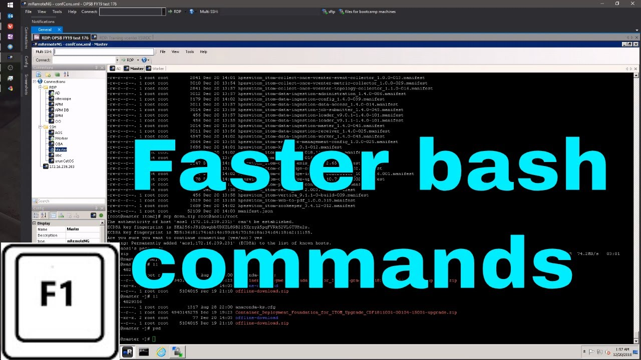 mRemoteNg - How to execute parallel SSH commands, semiautomation of IT tasks