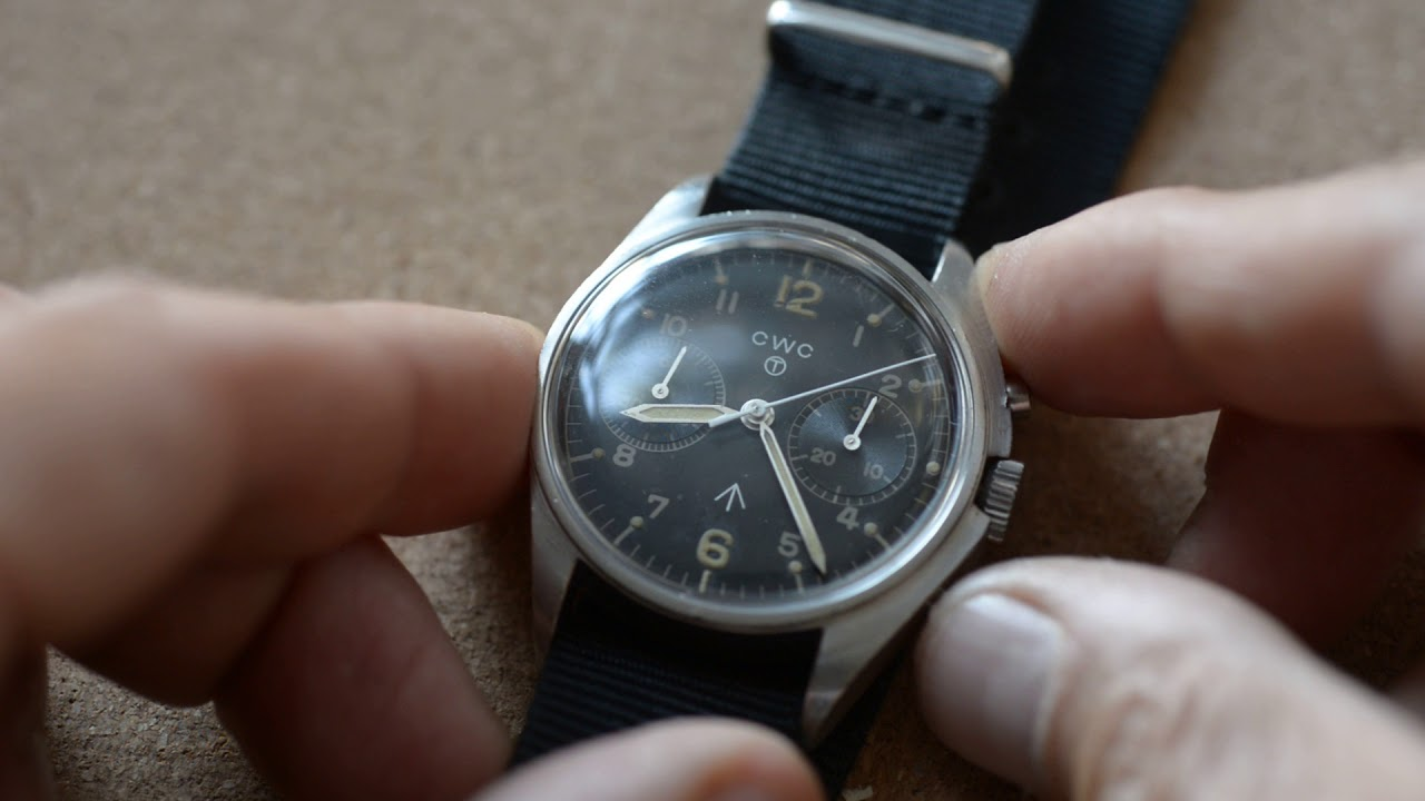 CWC Royal Navy chronograph (1980) – Mr Jones Watches