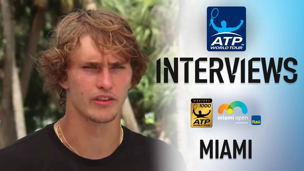 Zverev Talks About Catching His Favourite Team In Miami 2018