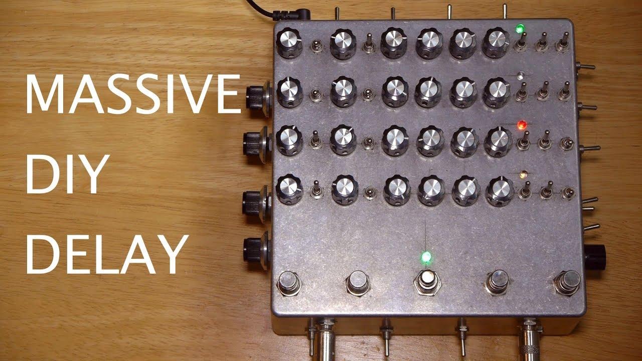 MIVE DIY DELAY PEDAL Guitar Delay Pedal Schematic on eq pedal schematic, guitar tube preamp schematic, reverb pedal schematic,