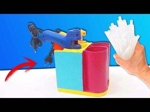 Hot Glue Gun Lifehacks And DIYs   How to make a Glue Gun Holder