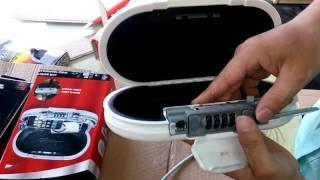 Hướng dẫn sử dụng hộp đựng đồ cá nhân Master Lock 5900 EURD