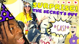 Our Secret Reveal and a Surprise Pandemic Party in the park, who's gasp was the biggest?