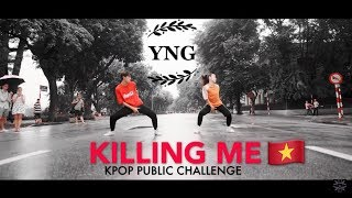 [KPOP IN PUBLIC CHALLENGE] iKON - '죽겠다(KILLING ME)' Dance Cover By YNG