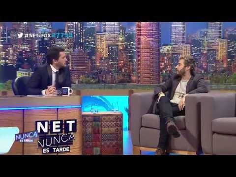 NET Nunca Es Tarde : 13 De Julio 2015  | Malena Pichot & Nicolas Francella