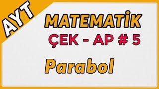 Parabol  AYT Matematik Çek-Ap 5  çekap aytmatematik