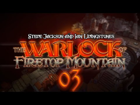 The Warlock of Firetop Mountain #03 CURSE OF THE MAZE - Fight Fantasy Let's Play