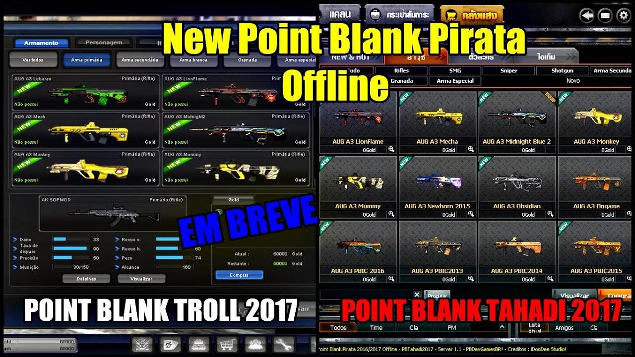 point blank pirata