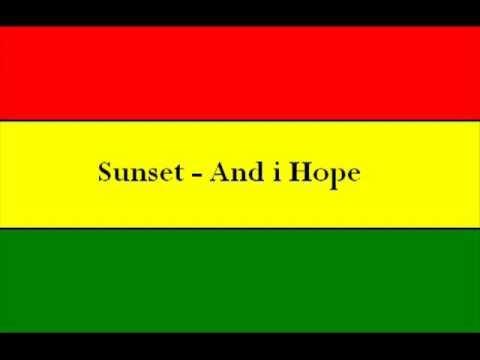 sunset-and i hope