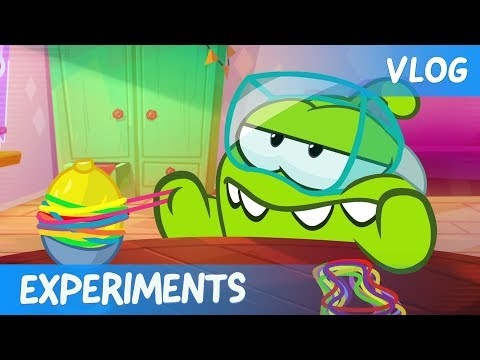 Om Nom Stories: Video Blog - Experiments