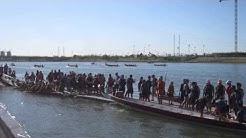 Dragon Boat Races in Tempe, AZ---Day 1 Race 1