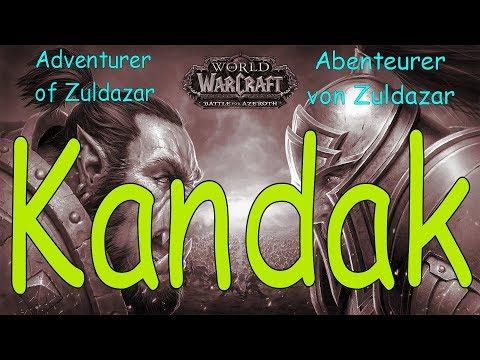 WoW - Kandak - Abenteurer von Zuldazar / Adventurer of Zuldazar