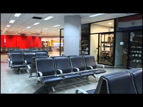 Visita al aeropuerto de Asunción
