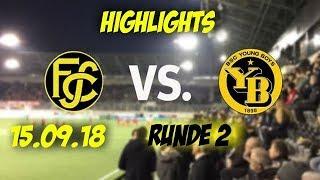 Highlights: Fc Schaffhausen vs BSC Young Boys (15.09.18)