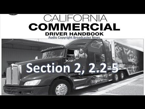 dmv cdl hand book audio calif 2018 section 2 2 1 2 5 rh youtube com CT DMV Manual NYS DMV Manual Online