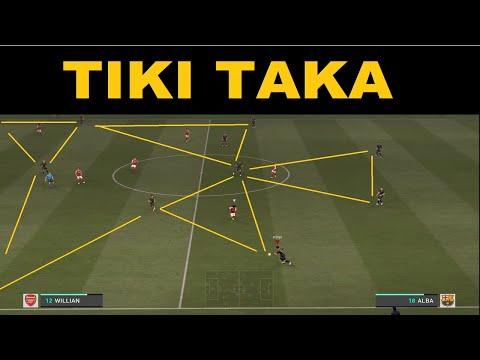 FIFA 21 The Return Of Tiki Taka   Arsenal vs FC Barcelona  