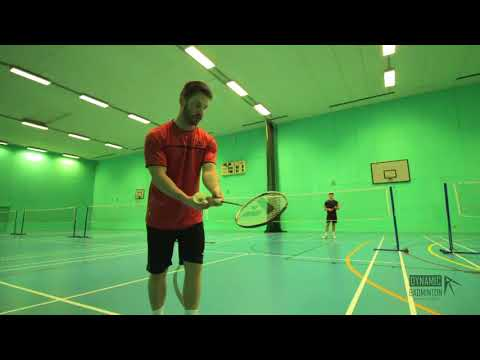How To Do 3 different BACKHAND DROPS (TUTORIAL) **Badminton**