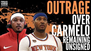 NBA Players & Former NBA Players react to Carmelo Anthony Being Unsigned
