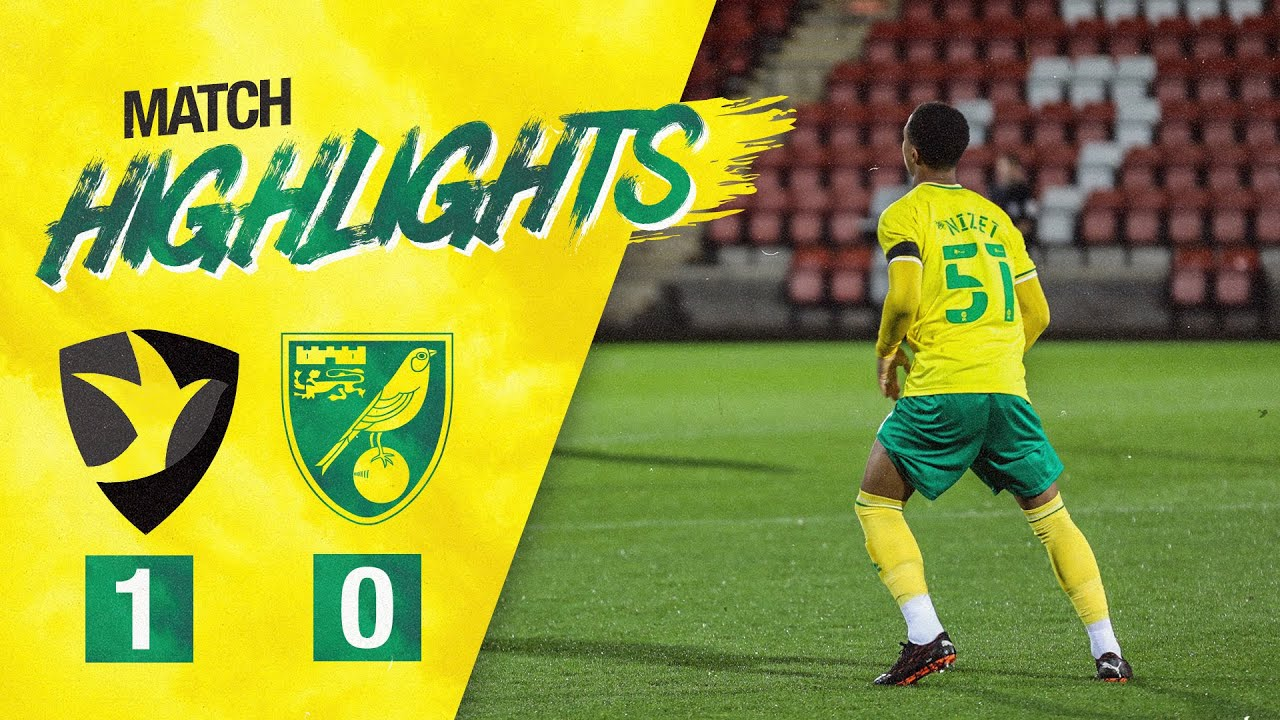HIGHLIGHTS | Cheltenham 1-0 Norwich City U21s