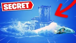 POLAR PEAK'S CHATEAU IS ON THE MONSTER DOS IN THE UAE... (FORTNITE SECRET SAISON 9)