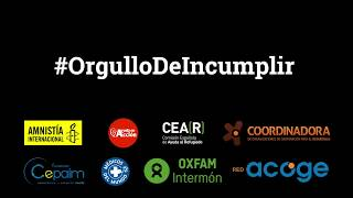 Orgullo de Incumplir - Por qué el Gobierno español y la UE no cumplen sus compromisos de acogida