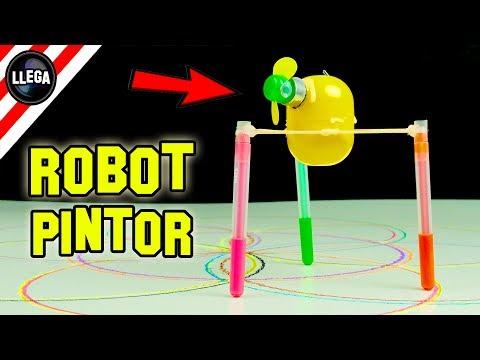 Como Hacer Un Robot Que Pinta Solo - Experimentos Caseros by LlegaExperimentos