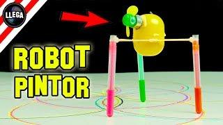 Cómo Hacer Un Robot Que Pinta Solo - Experimentos Caseros by LlegaExperimentos