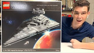 2019 LEGO Star Wars 75252 UCS Imperial Star Destroyer Review!