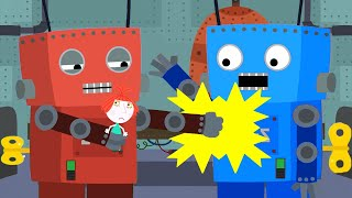 Ben and Holly's Little Kingdom | Rock'em Sock'em Robots | Kids Videos