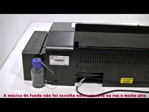 Veja como instalar o Dreno na Epson L800 e T50