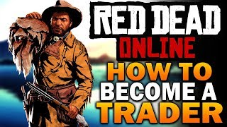 How To Become A Trader! Camp Dogs & Deliveries! Red Dead Online Frontier Pursuits Update