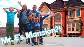 Mr. E Gives Us His Mansion! / The Beach House