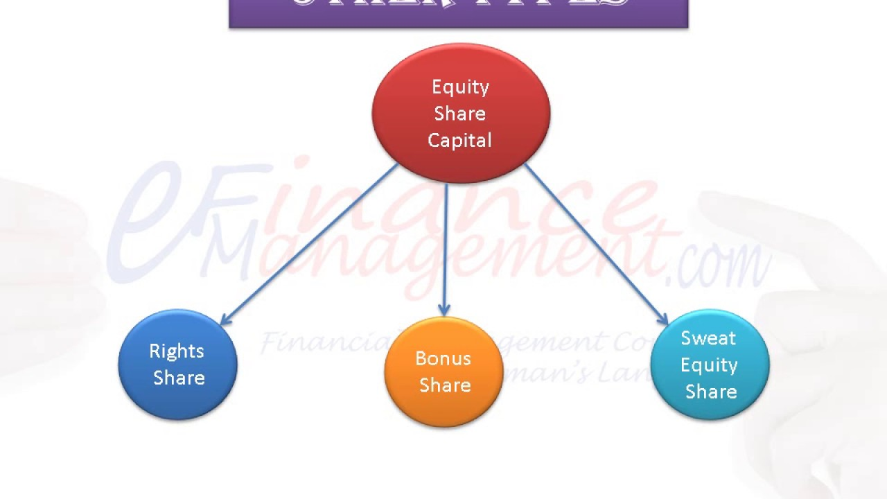 equity shares and types