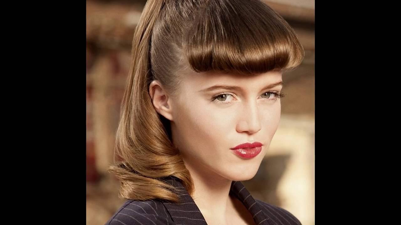 Haarfarben Und Frisurentrends Pin Up Frisuren Youtube