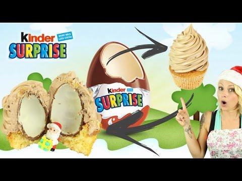 ♡•-recette-inÉdite-kinder-surprise-|-un-cadeau-dans-mon-cupcake-!!!•♡