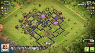 GiBarch attack Strategy 2017 | Farming Attack Strategy for th9 - Clash Of Clans