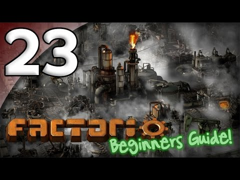 Factorio Beginner's Guide - 23. Robots & Logistics - Let's Play Factorio Gameplay