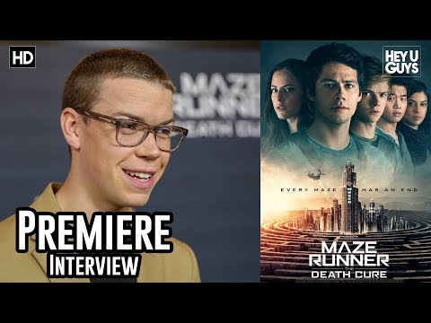 Will Poulter  Maze Runner: The Death Cure Premiere