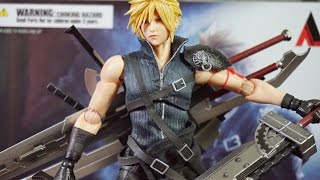 SQUARE ENIX PLAY ARTS改 FFVII-AC CLOUD STRIFE 克勞德 開箱