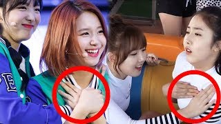 Kpop Female Idols vs Naughty Hands