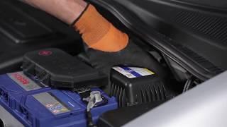 Cómo cambiar Filtro de aire en HYUNDAI GETZ 1 [Instrucción]