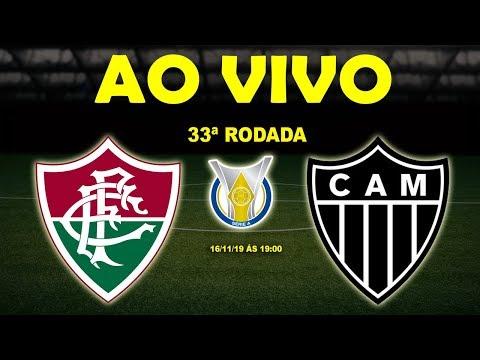 Fluminense x Atlético-MG Ao Vivo | Brasileirão Série A | 33ª Rodada
