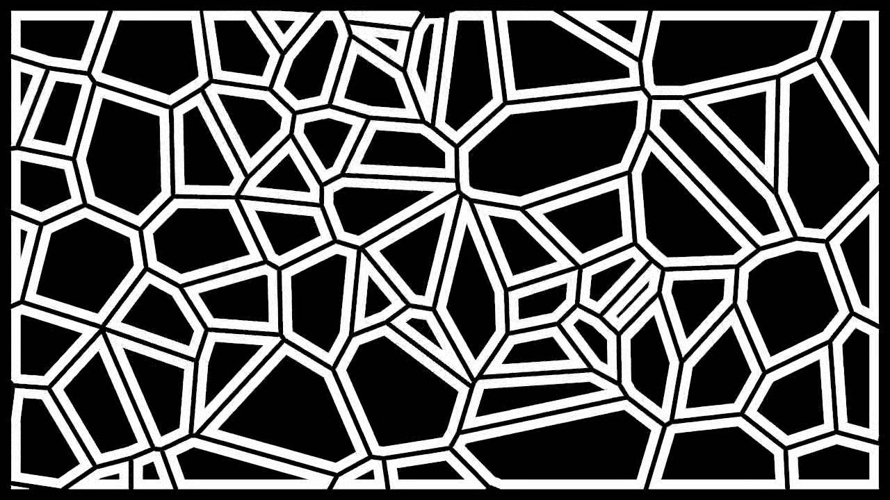 Plane 3d Wallpaper Voronoi Pattern From Order To Chaos Youtube