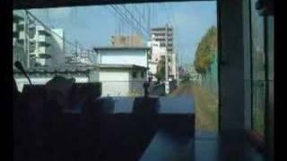 伊予鉄道 環状線 2100型 鉄砲町~清水町