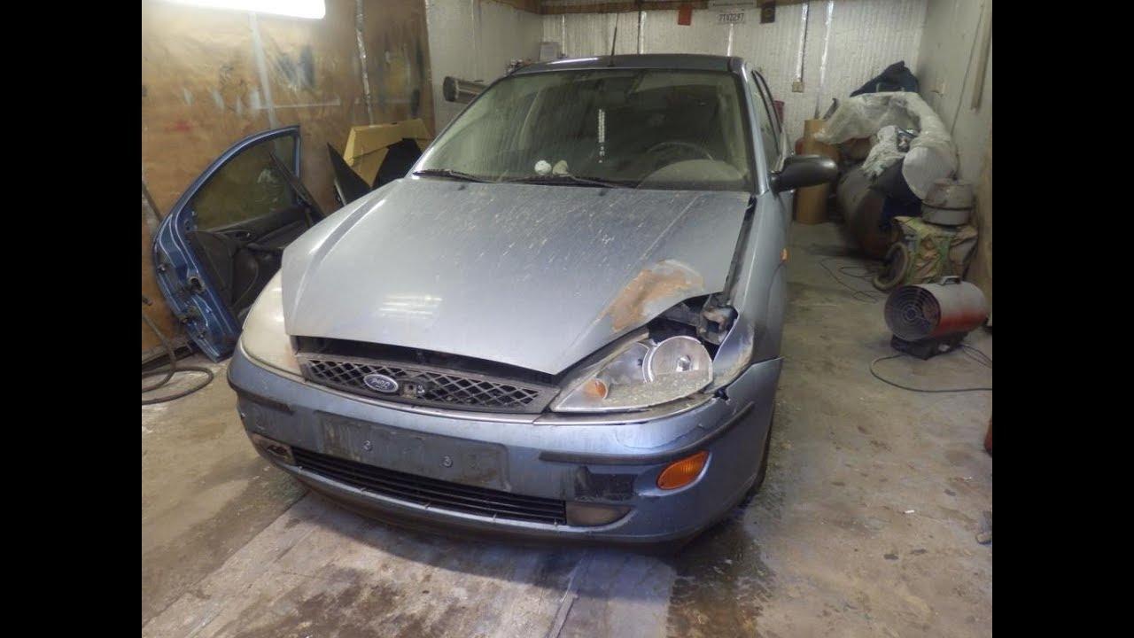 Форд фокус 1 ремонт и окраска