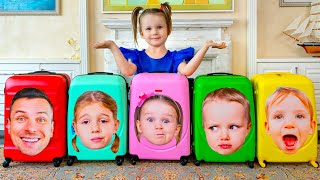 Five Kids Moving Song More Childrens Songs And Videos